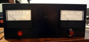 Power supply front panel