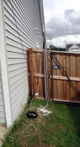 Messy tangled antenna