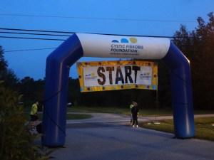2017 CFF Ride start/finish