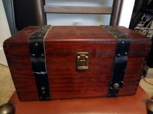 Small pirate treasure box