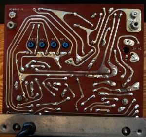 Voltohmyst circuit board