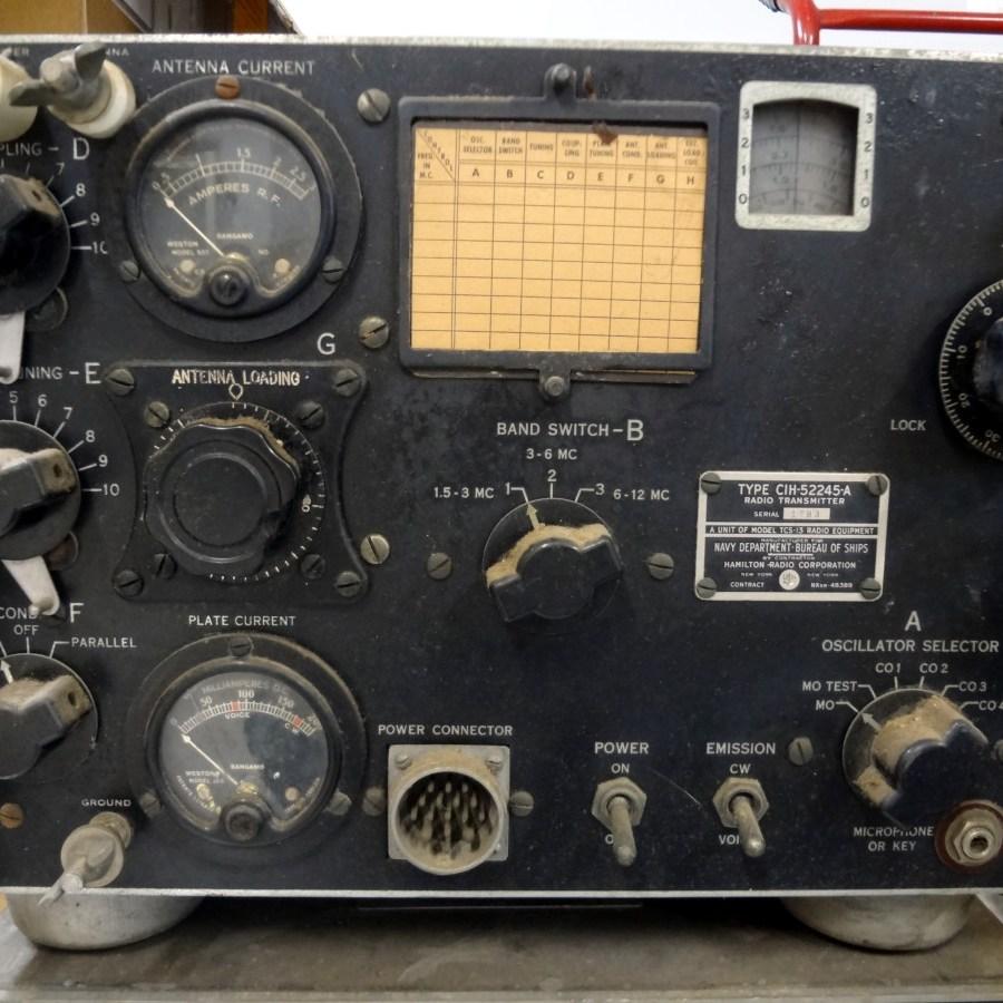 CIH-52245-A radio transmitter