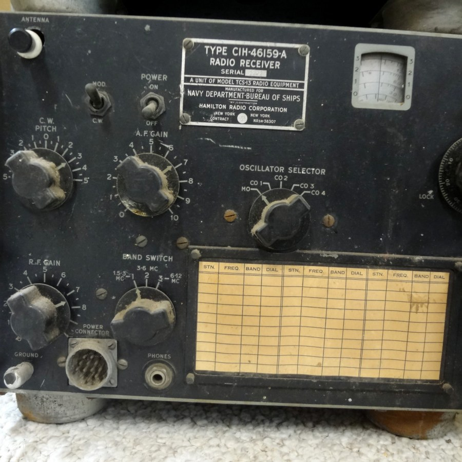 CIH-46159-A radio receiver