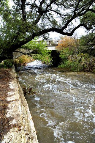 Shoal Creek after rain