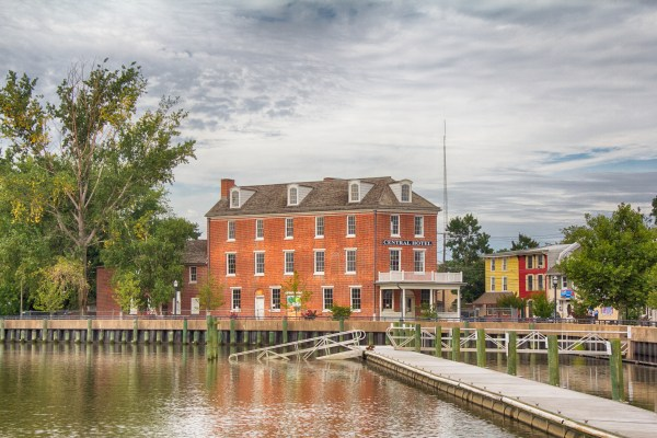 The Central Hotel was built in Delaware City, Delaware circa 1830. In 2014, it will become the ABA's new headquarters. Photo ©Jeffrey A Gordon
