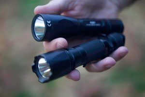 The latest LED flashlights are small enough to fit in the palm of your hand, but as bright as a spotlight.