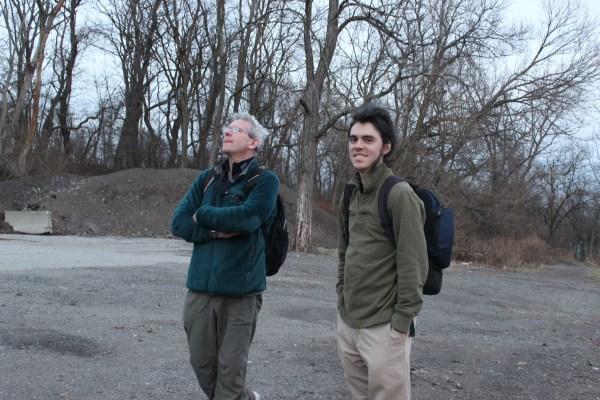 Ted Floyd with a CBC survivor.