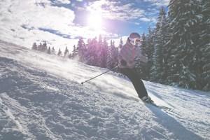 velocidades que se pueden alcanzar esquiando