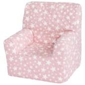 fauteuil enfant etoile rose pour tipi enfant abitare kids rose etoile
