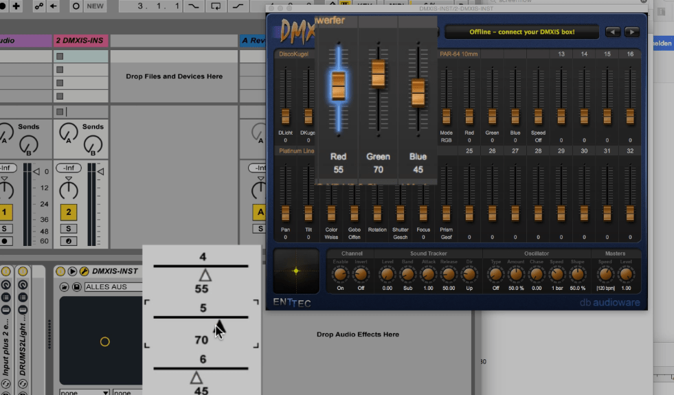 Control lights with your drumming - AbletonDrummer com