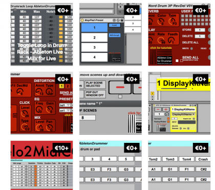Ableton Live free presets for Max for Live