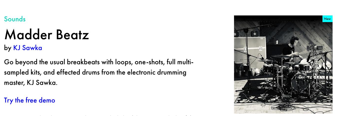 KJ SAWKA Madder Beatz Ableton Live Drum Pack
