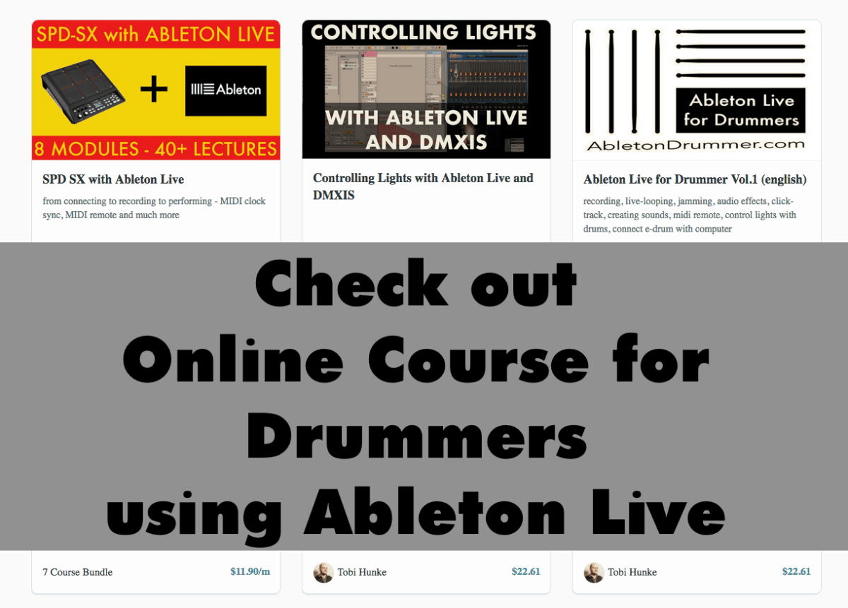learn to use ableton live