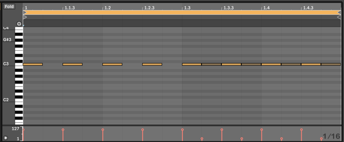 Click track in Ableton Live