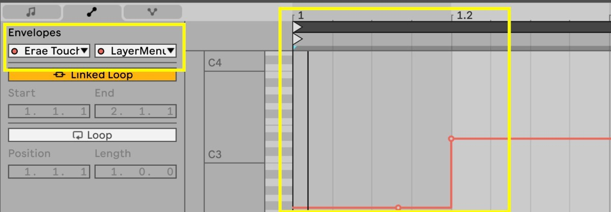 Automate changes in Ableton Live