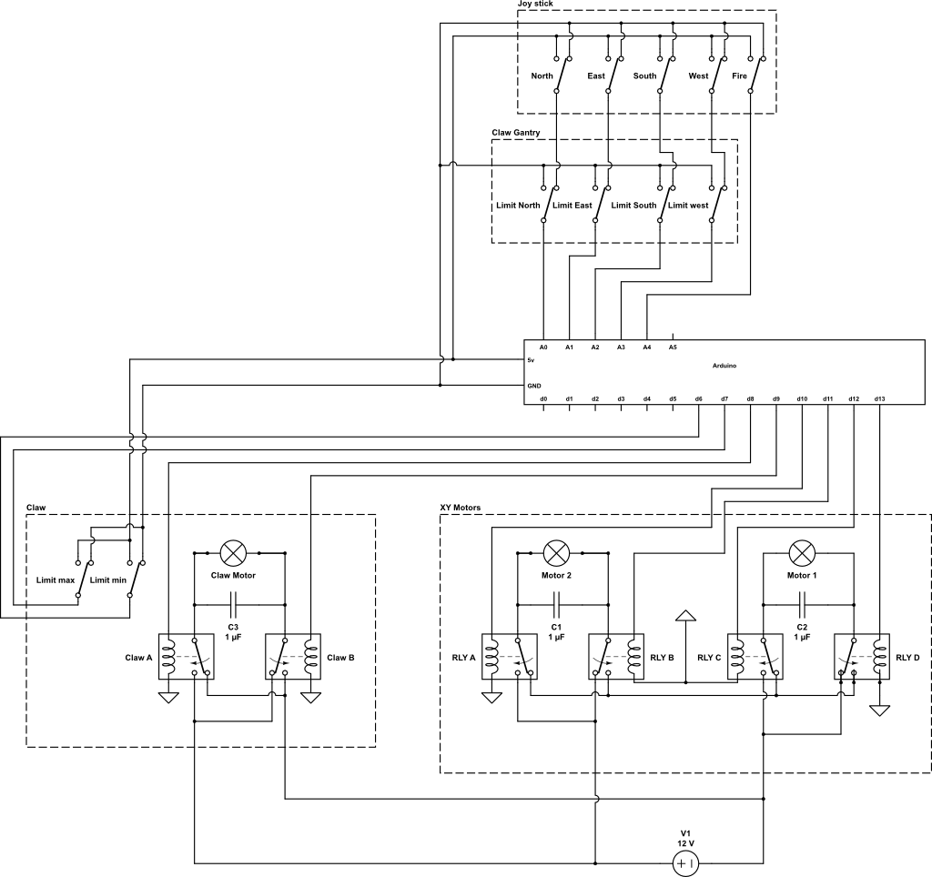 l298 h bridge circuit diagram trailer wiring 7 pin 5 wires australia the giant claw game relay and design