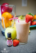 Strawberry Banana Fruit Smoothie