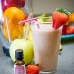 Strawberry Banana Fruit Smoothie