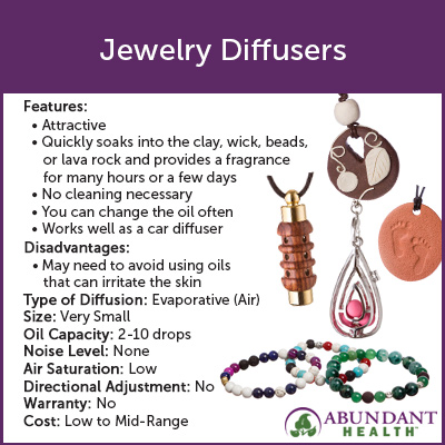 Jewelry Diffusers Info Graphic