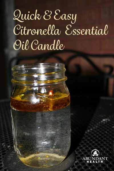 Citronella-Candle
