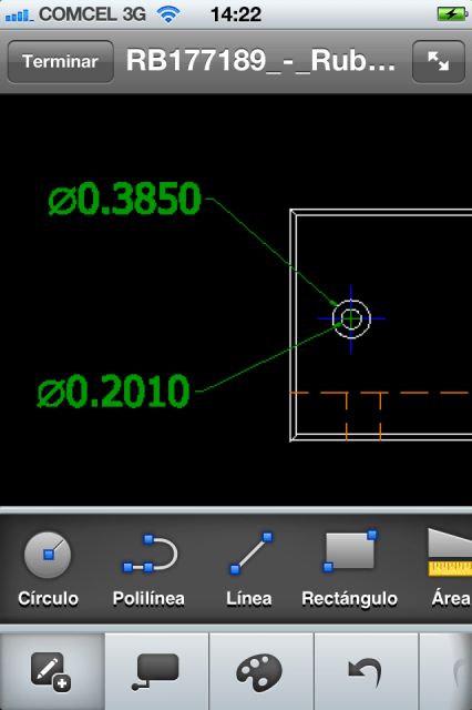 AutoCAD WS en iPhone
