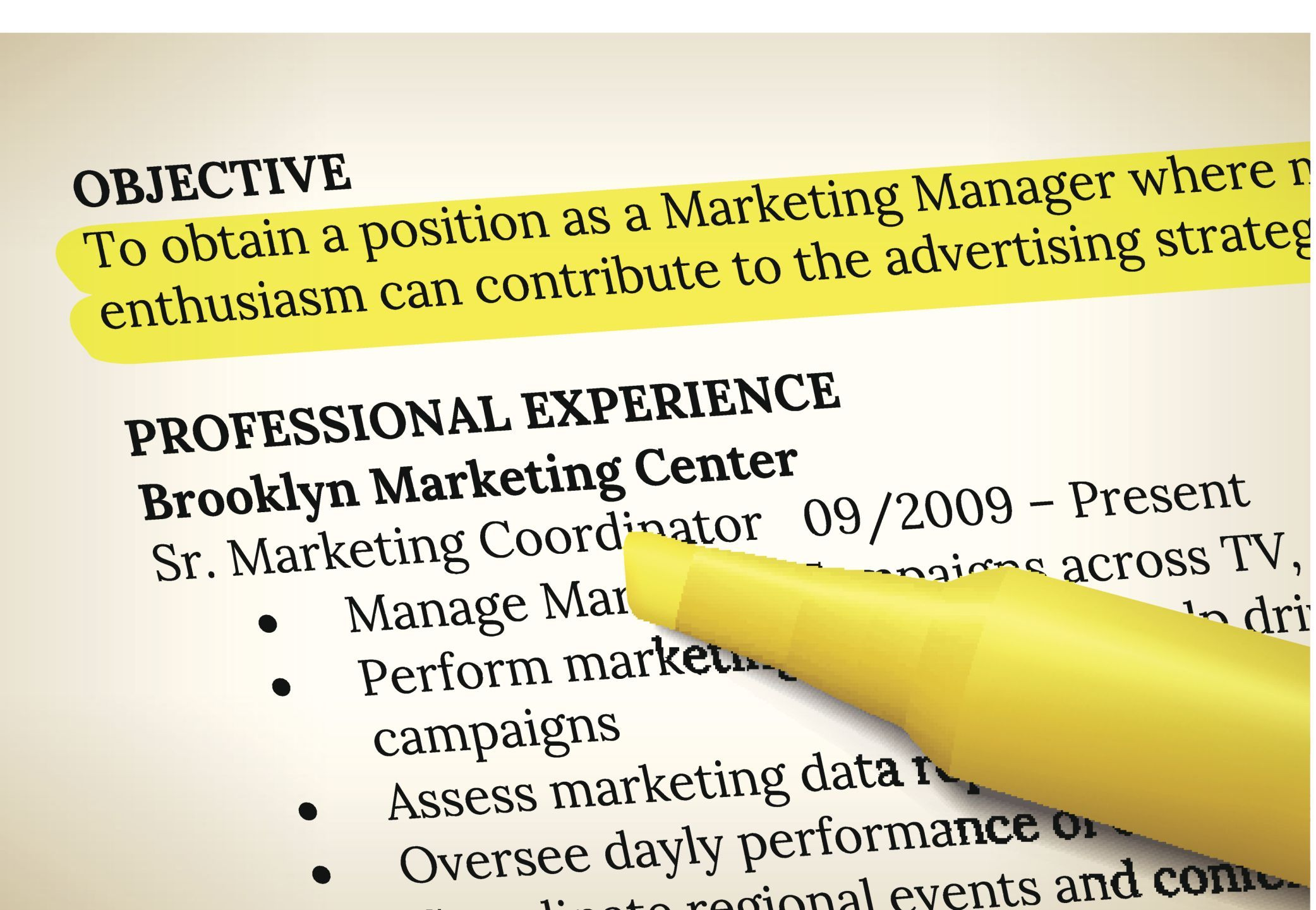 What Does Objective On A Resume Mean Things You Should Never Include In Your Resume Academy