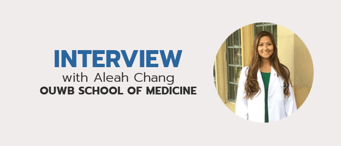 Check out more interviews with other med students!