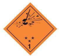 Clasificación NFPA - Clase 1 Explosivos