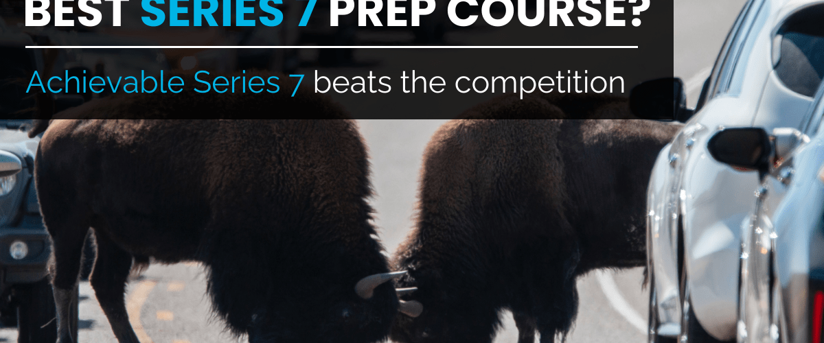 Best Series 7 Prep Course Achievable Series 7