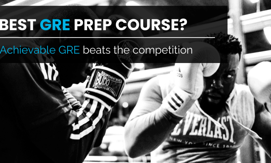 Best GRE prep course comparison
