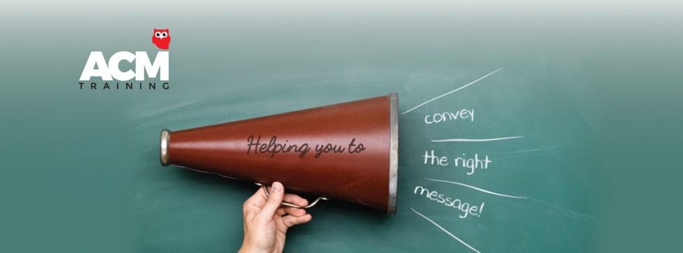 Presentation and pubic speaking skills