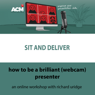 how to be a brilliant online presenter course header