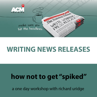 writing news releases workshop image