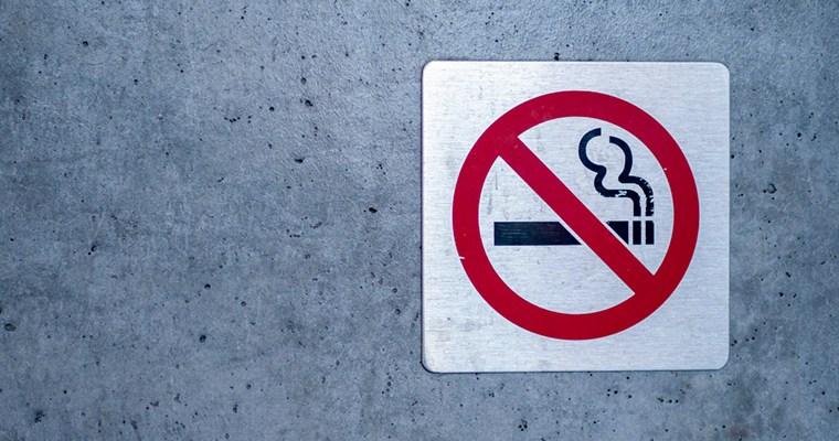 """Placa """"Proibido Fumar"""""""