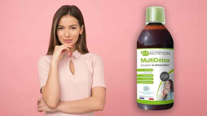 MultiDétox d'Actinutrition draineur minceur