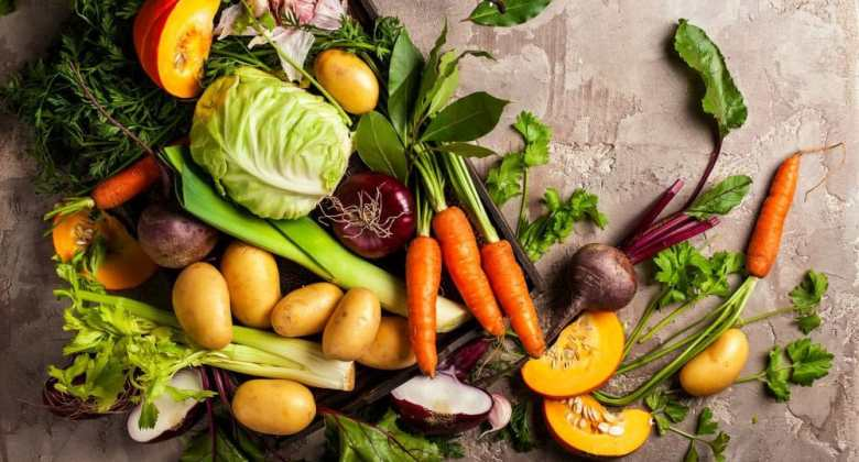 L'infographie sur les légumes d'hiver