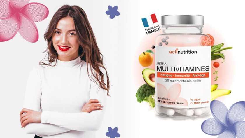 Ultra Multivitamines Actinutrition