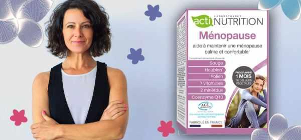 Ménopause Actinutrition