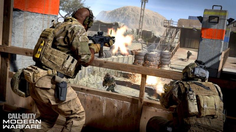 Znalezione obrazy dlazapytania Call of Duty: Modern Warfare