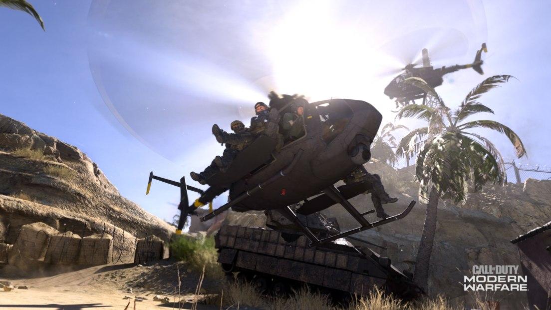 First Look At Modern Warfare's Gameplay Mechanics MW MP TRAILER SCREEN 010