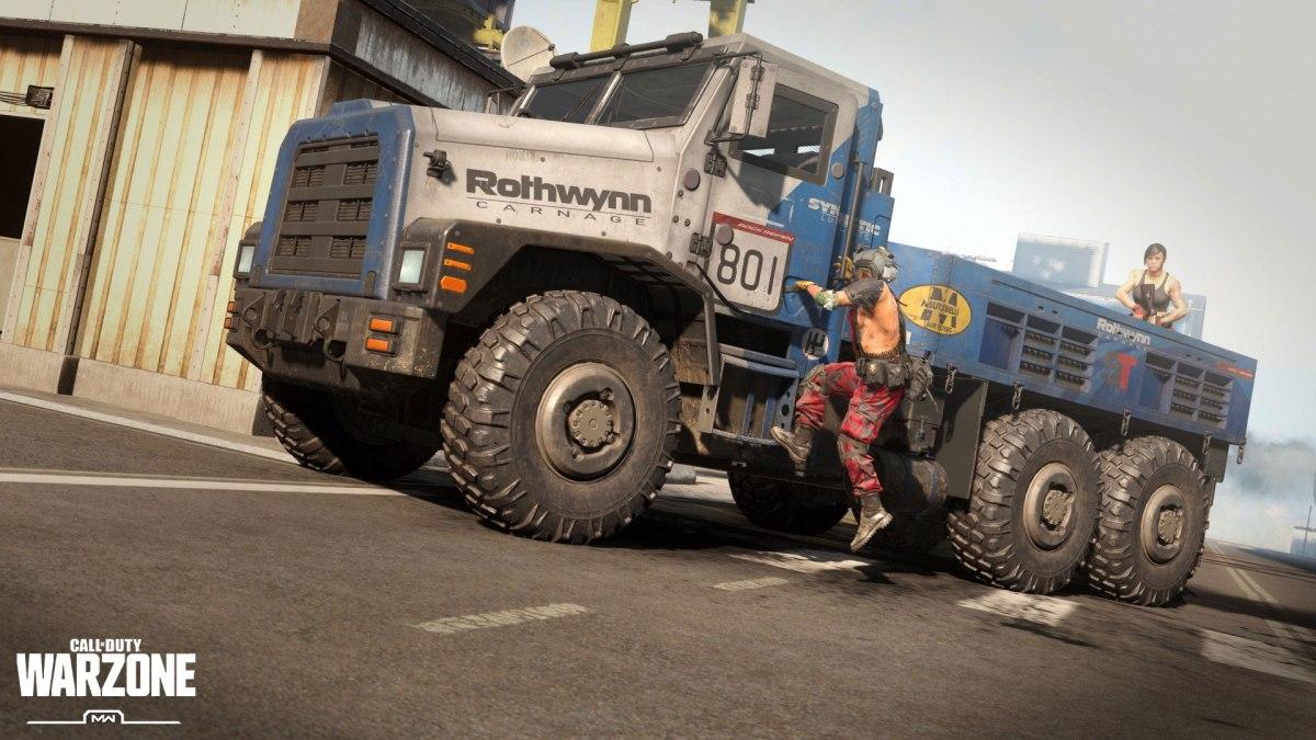 Modern Warfare and Warzone Season 3 Content AGB MW S3 WZ Vehicle Skin