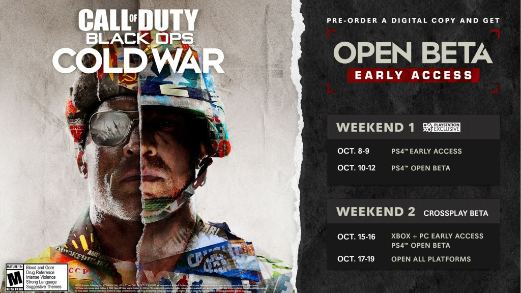 Call of Duty Black Ops Cold War Open Beta SAFARIGAMES.IT
