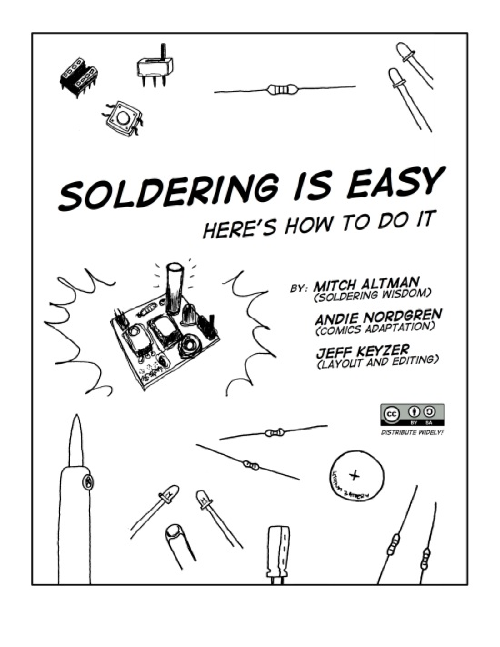 """Soldering Is Easy!"" comic book « Adafruit Industries"
