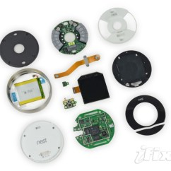 Nest 3rd Homekit Directv Without Swm Learning Thermostat 2nd Generation Teardown