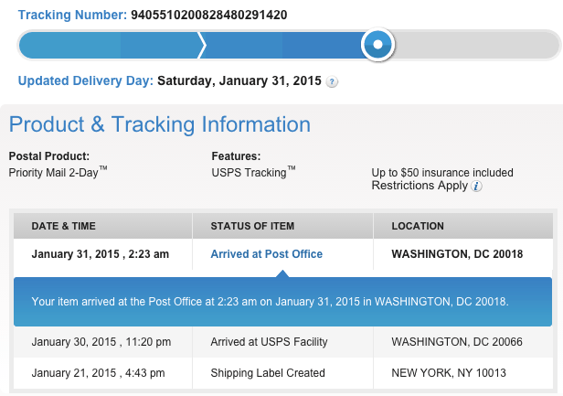 USPS slowing down  our thoughts on the postal service over the last few months makerbusiness