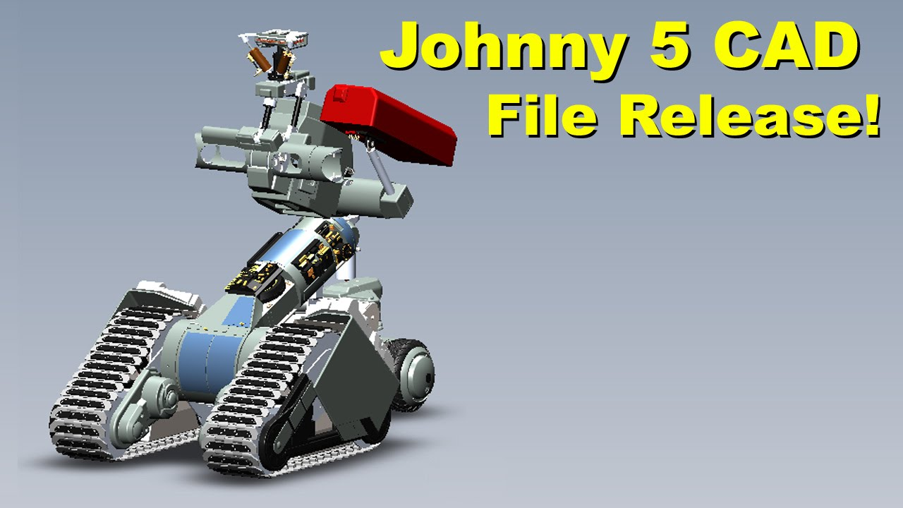 Xrobots Short Circuit Johnny 5 Open Source Cad File Release By