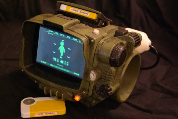 Fall Out Boy Iphone 6 Plus Wallpaper 3dprint Your Own Pip Boy 3000 171 Adafruit Industries