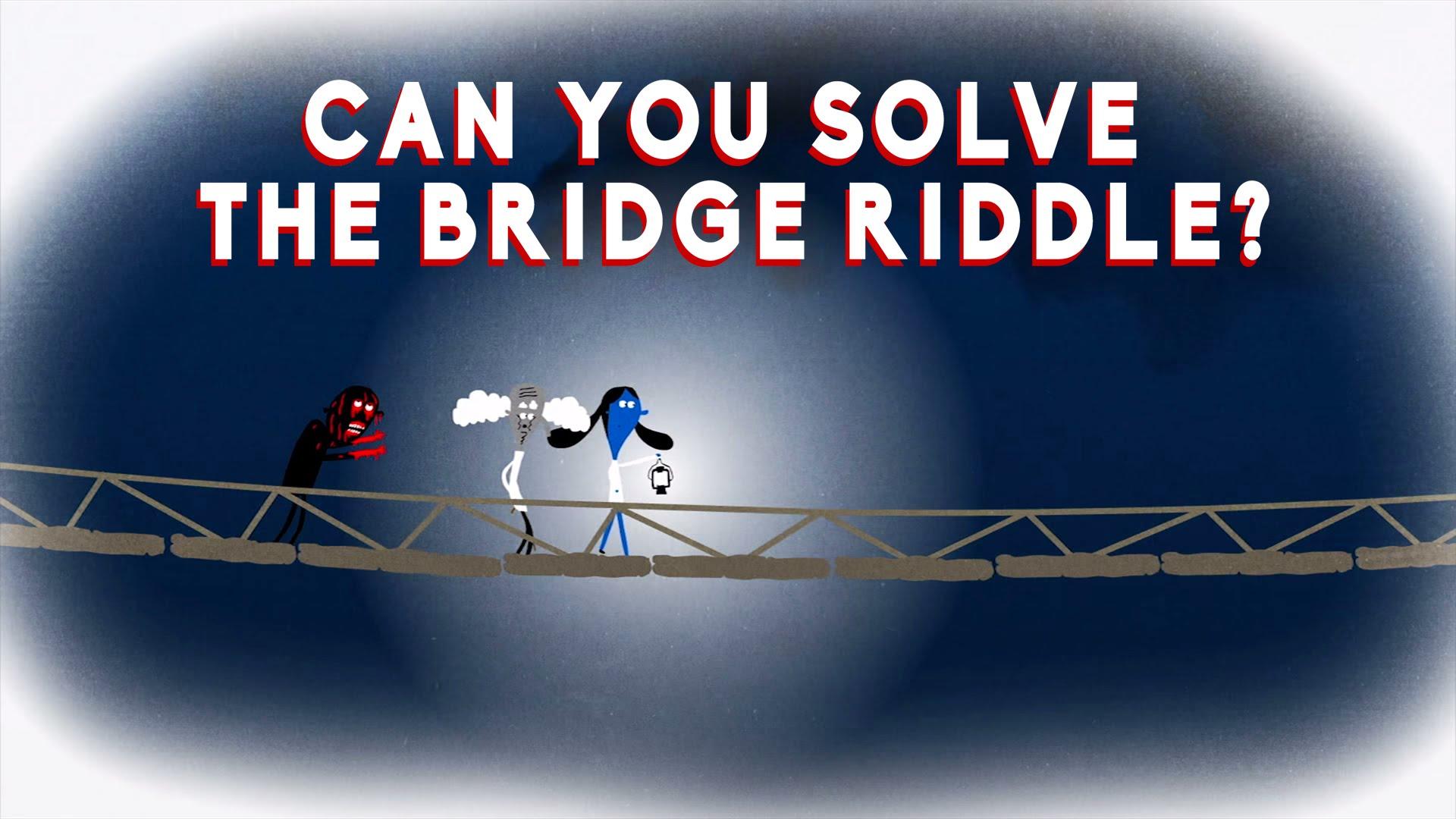 Can You Solve The Bridge Riddle Saturdaymorningcartoons