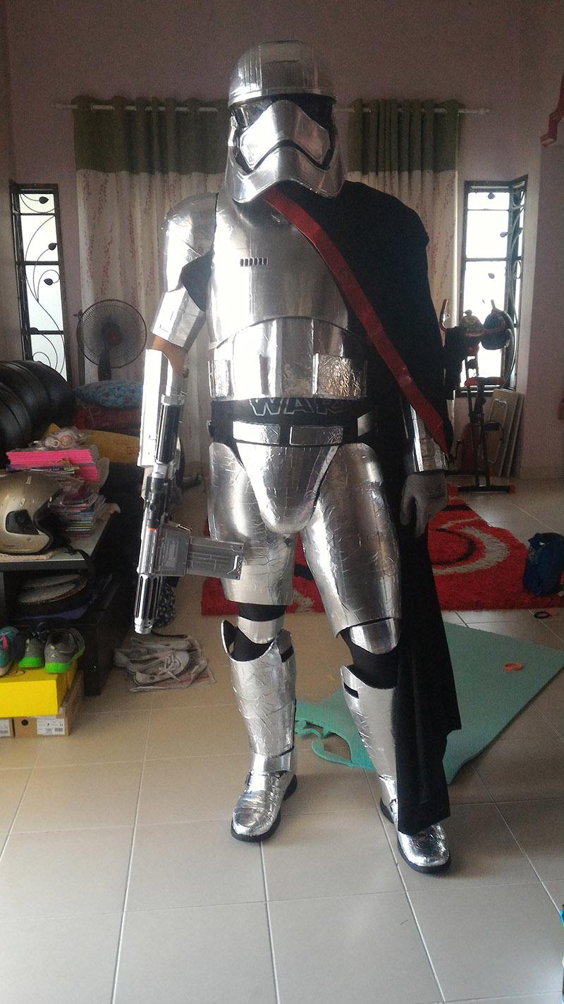 3DPrinted Captain Phasma Costume  Adafruit Industries  Makers hackers artists designers