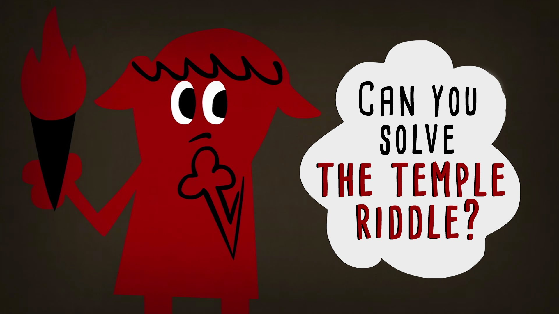 Can You Solve The Temple Riddle Saturdaymorningcartoons